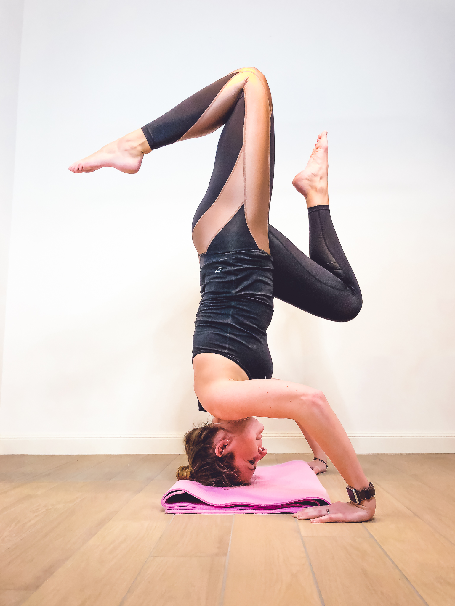 Yoga Kopfstand - meine Home Workouts
