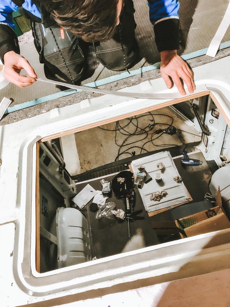 Butyldichtband zum Abdichten des Dachfensters